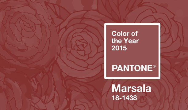 Pantone Color of the Year – Marsala