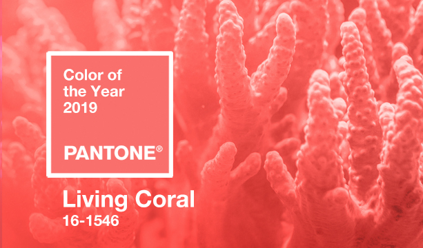 Pantone Color of the Year - Living Coral