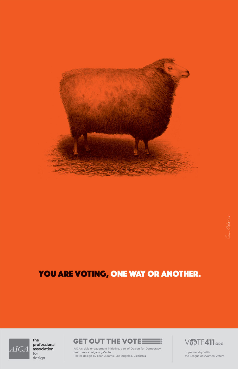 Don't be a sheep by Sean Adams